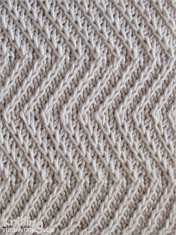 Knitting How To Cast On Stitches At The End Of A Row : Knitting Stitch Patterns
