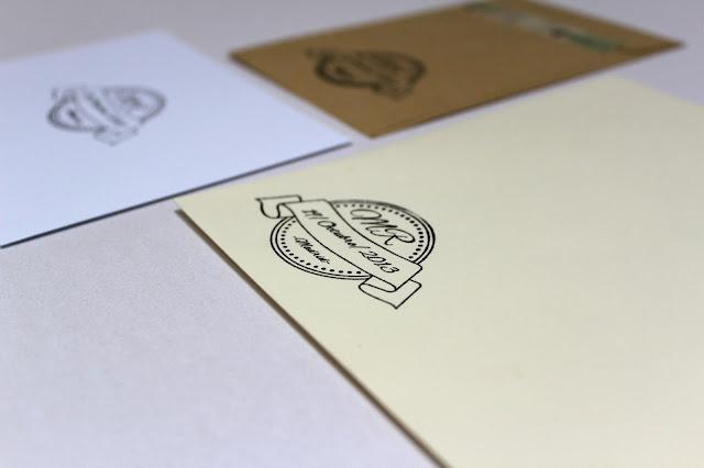 detalles de boda sello personalizado hermanas bolena