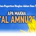 """[ Pengertian-Pegertian Ringkas dalam Ilmu Tauhid ] Apa Makna """"Al Amnu?"""""""