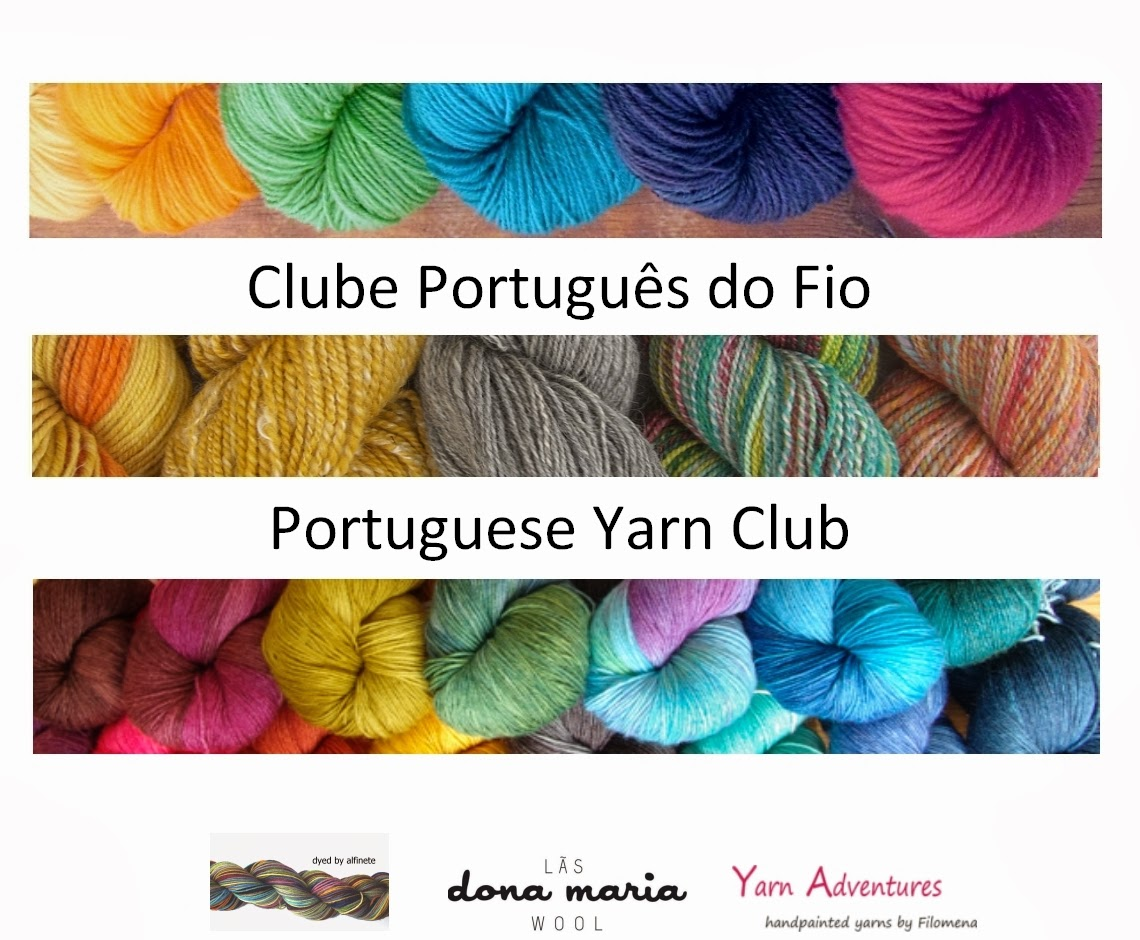 CLUBE PORTUGUÊS DO FIO | PORTUGUESE YARN CLUB