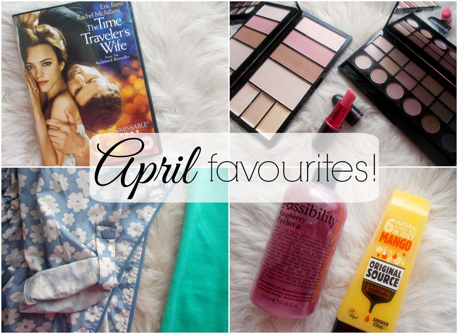 april favourites beauty fashion lifestyle makeup revolution mac viva glam nicki thrifting primark original source possibility bath the time travelers wife
