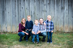 Our Family:  Parker, Jenn, Jackson, Josh, and Tyce