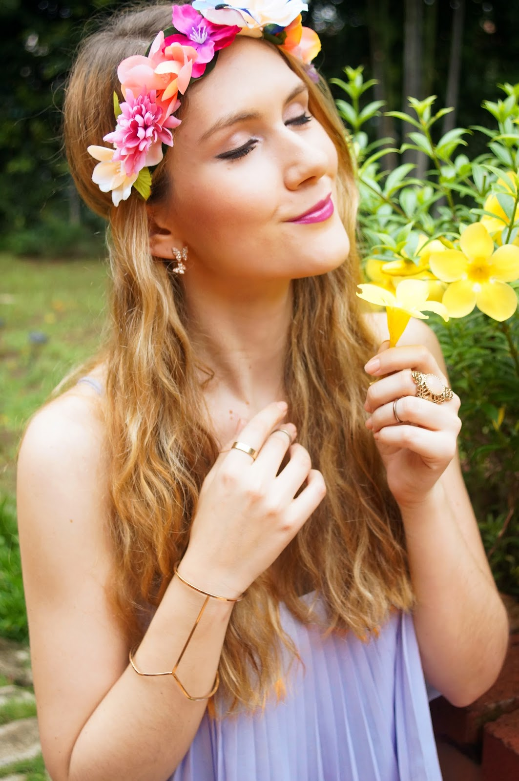 Pretty Floral Crown!