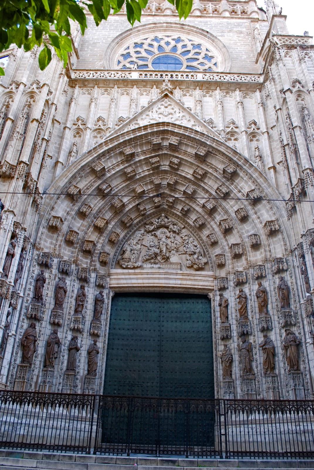 Historiarte sevilla puertas de la catedral 1 3 - Puertas uniarte sevilla ...
