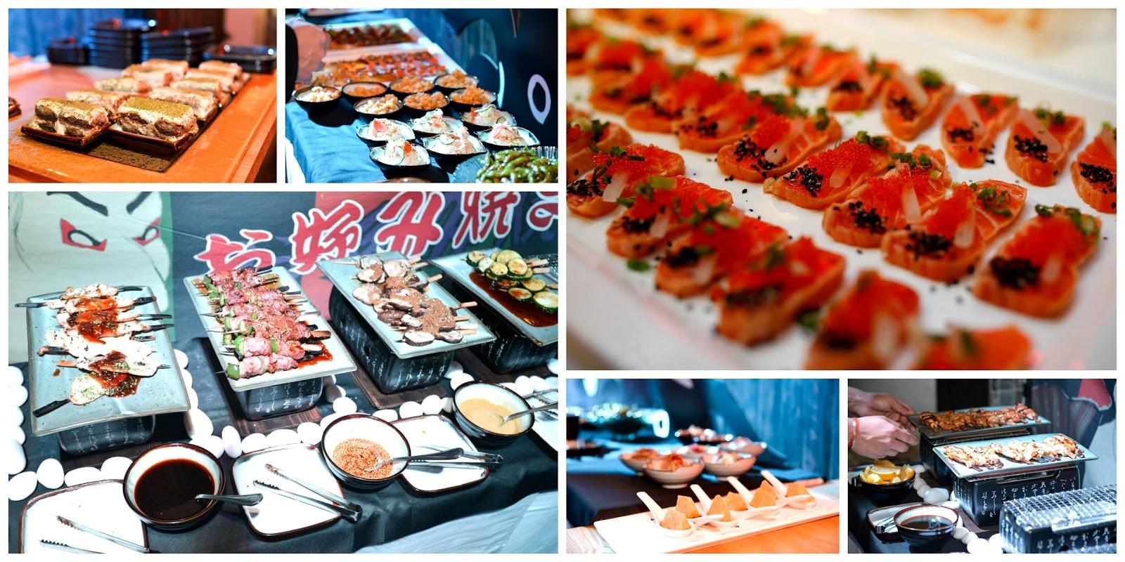 Angeltini the booze blog launch aka chochin izakaya for Aka japanese cuisine menu