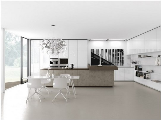 Inspiring modern minimalist kitchen room for your home for Minimalist house escape 4