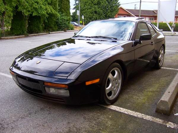 Black 1986 Porsche 944 Turbo Buy Classic Volks