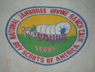 RARE VINTAGE 1950s 50s 1953 BOY SCOUT NATIONAL JAMBOREE BSA UNFORM T-SHIRT TEE