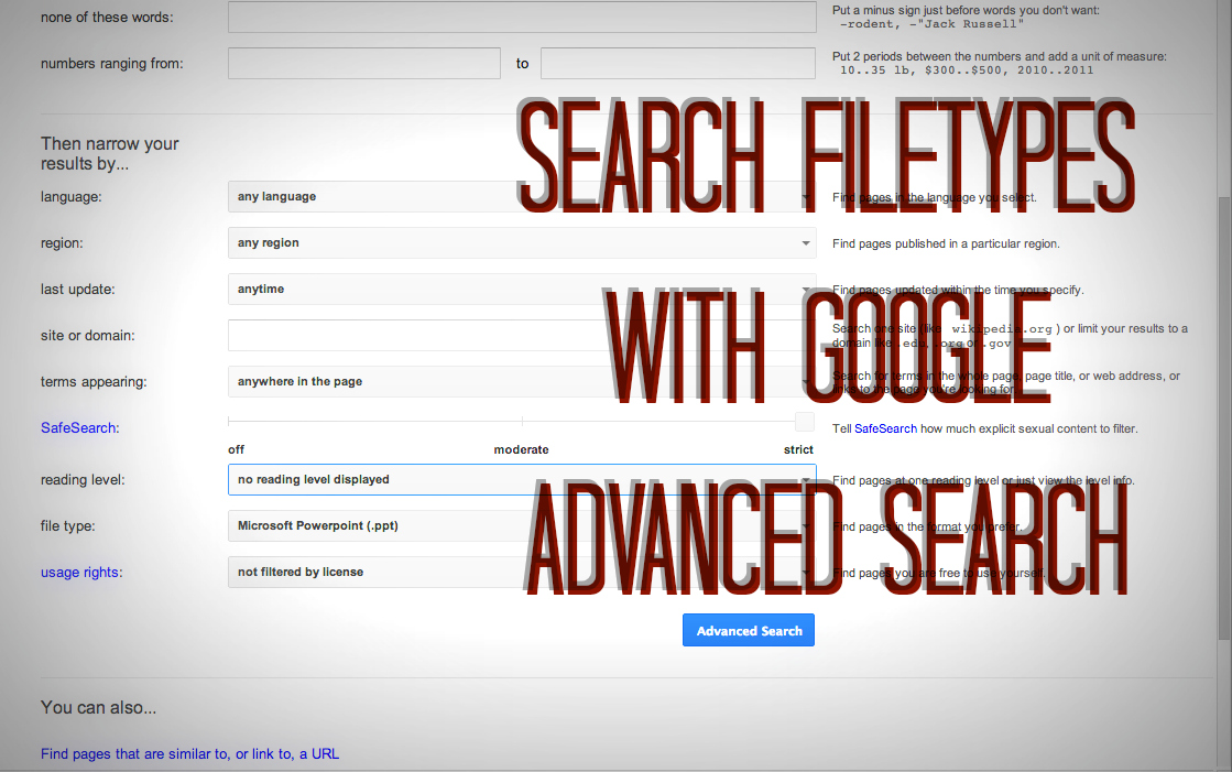 Top 26 Advanced Google Search Tips, Tricks and Techniques