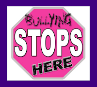 Bullying Stops Here Stop Sign