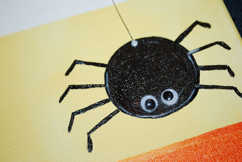 BOO! Mod Podge Canvas Wall Art - Amy Latta Creations