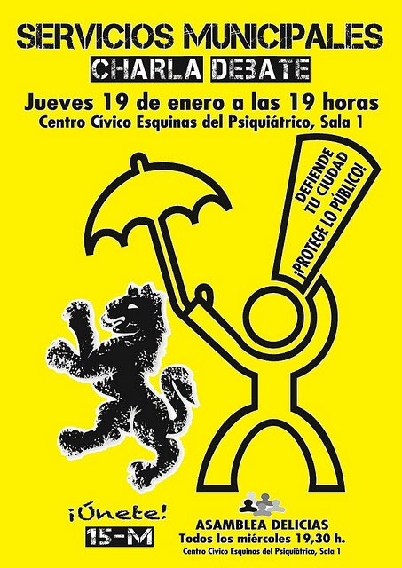 Cgt jardineria aragon charla debate de los servicios for Jardineria a domicilio barcelona
