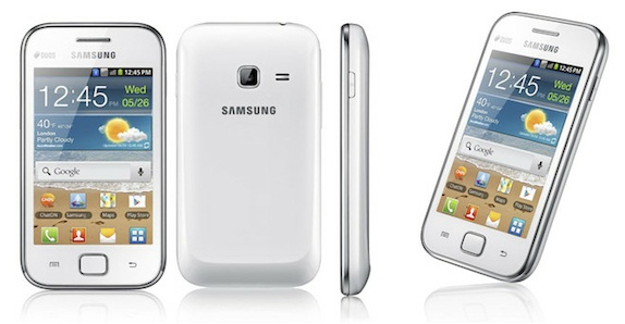 Samsung galaxy Ace Duos White