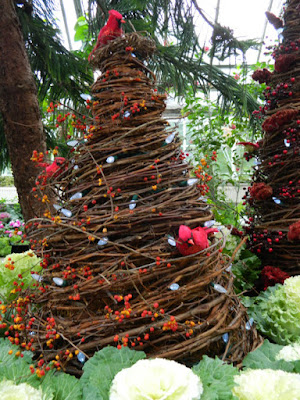 Allan Gardens Conservatory Christmas Flower Show 2015 topiary by garden muses-not another Toronto gardening blog
