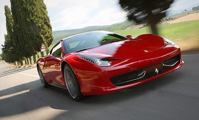 سيارة فيراري 458 إيطاليا Ferrari 458 Italia