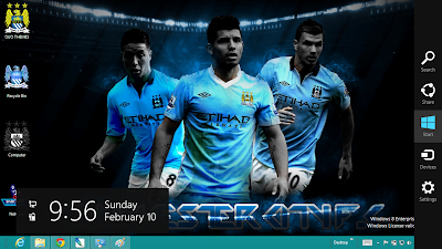 Manchester City Fc Windows 8 Theme
