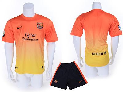 Kostum Away Barcelona 2012-2013