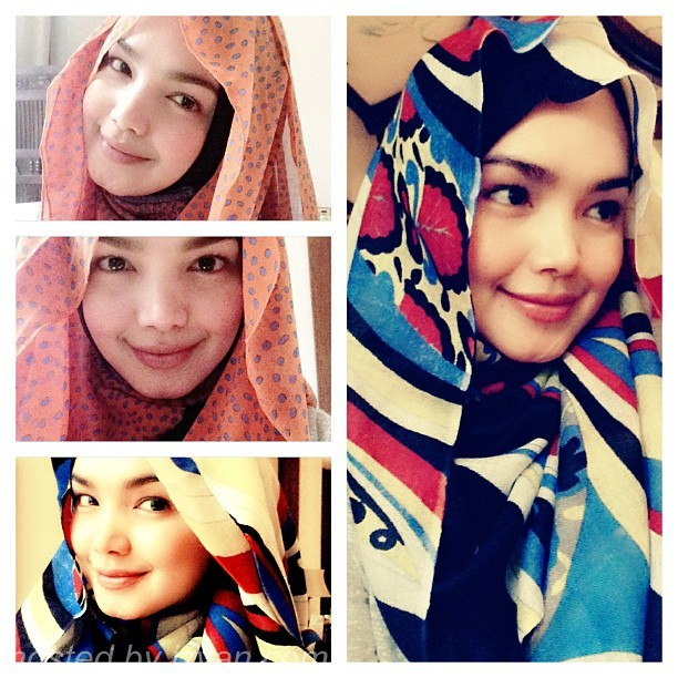 Nurhaliza Siti Fesyen Tudung | newhairstylesformen2014.com