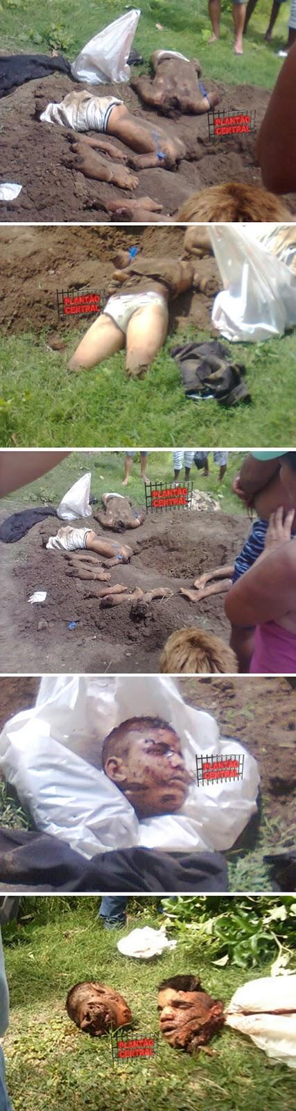 Irmãos gemeos são mortos, esquartejados e enterrados em cova rasa