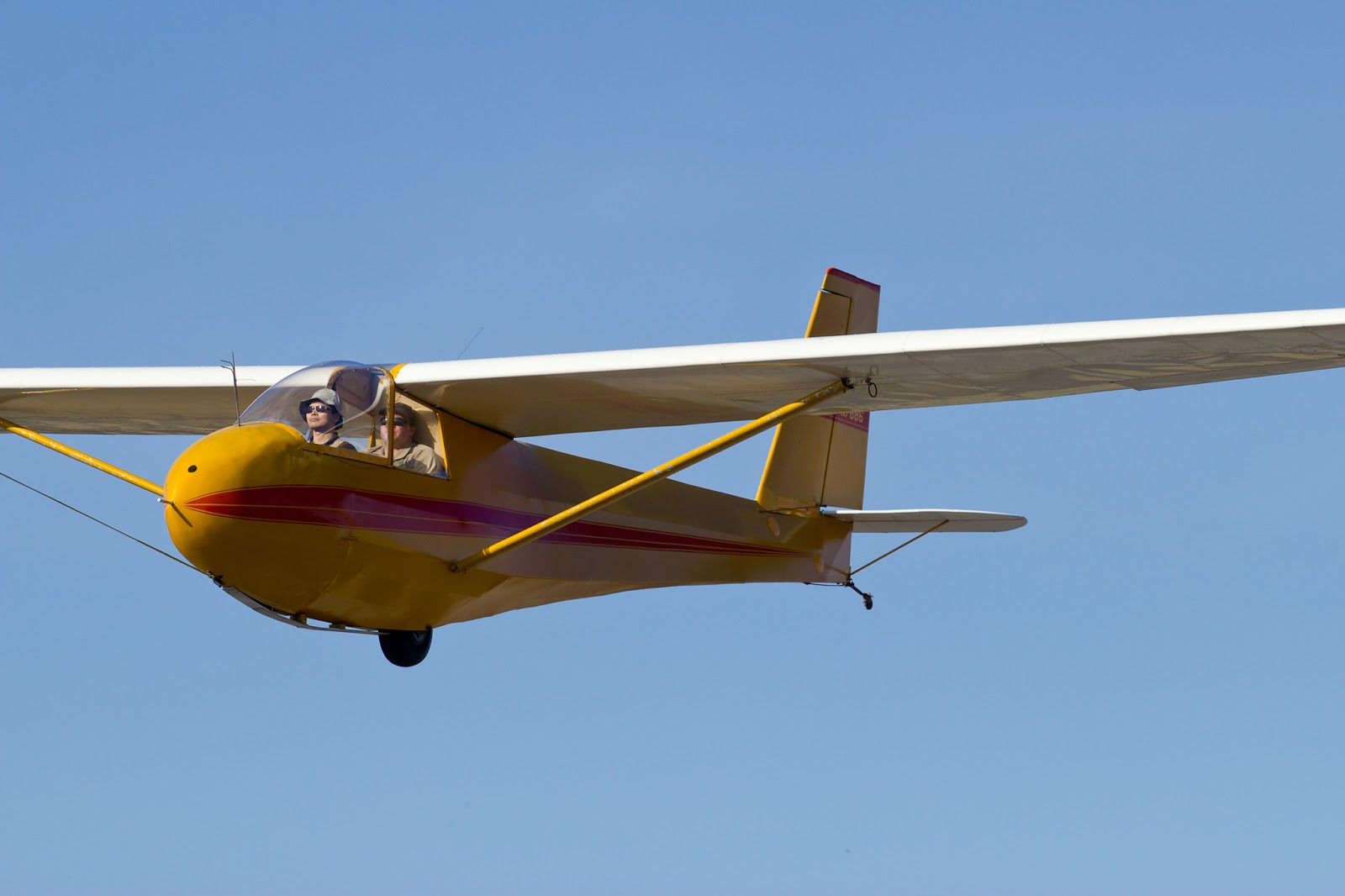 Glider at Randall Airport in Middletown, N.Y.