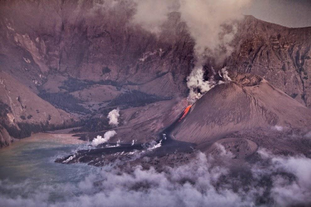 Mount Rinjani's Crater in Lombok