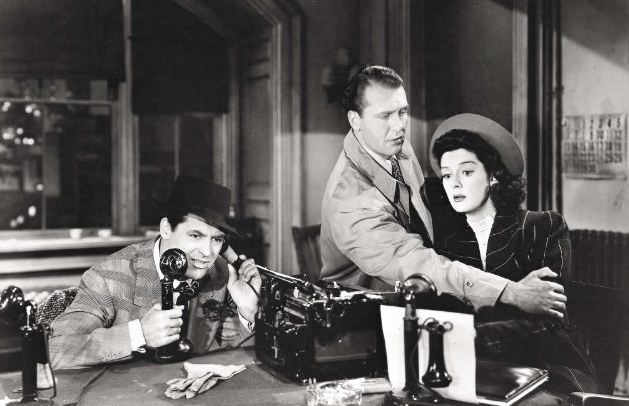 essays on his girl friday His girl friday features a video essay by the erudite david bordwell about the  classical hollywood style of filmmaking as practiced by hawks,.