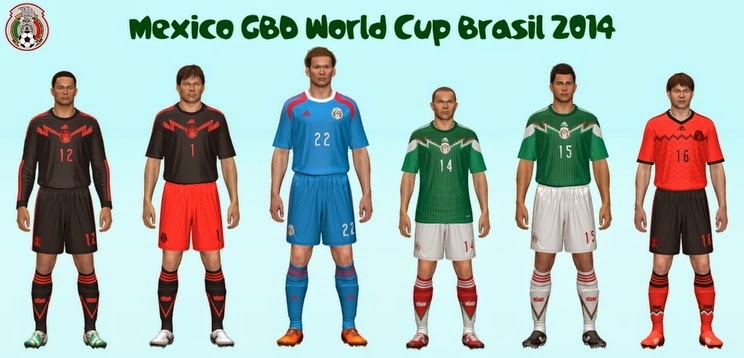 PES 2014 Mexico GDB World Cup 2014 by Abiel