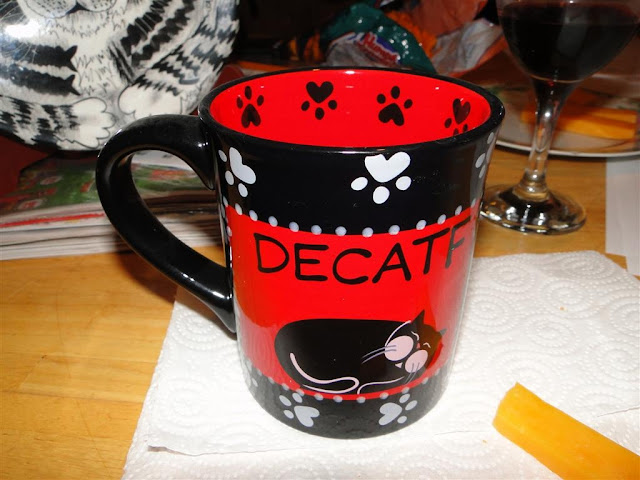 Decatffeinated mug