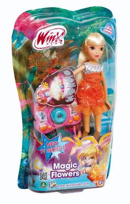 TOYS : JUGUETES - WINX CLUB Magic Flowers - Stella | Muñeca - Hada Producto Oficial | Giochi Preziosi | A partir de 3 años Comprar en Amazon España
