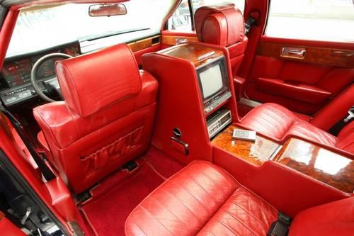Interior Car Tickford Aston Martin Lagonda 1983