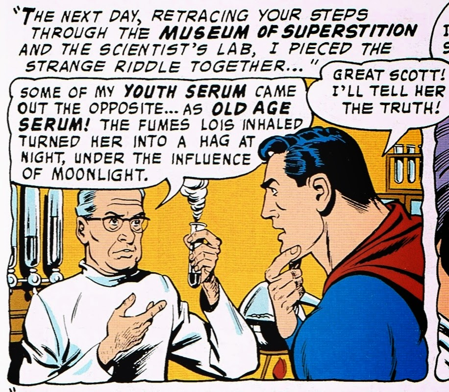 Superman's Girlfriend Lois Lane: The Witch of Metropolis biologist