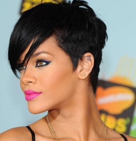 black hair on short hair those are suitable for round face some smart ...