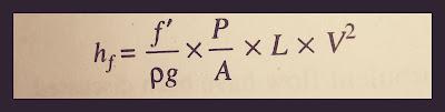 Chezy's formula