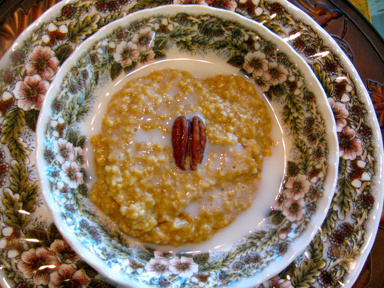 Rita's Recipes: Pumpkin Pie Oatmeal