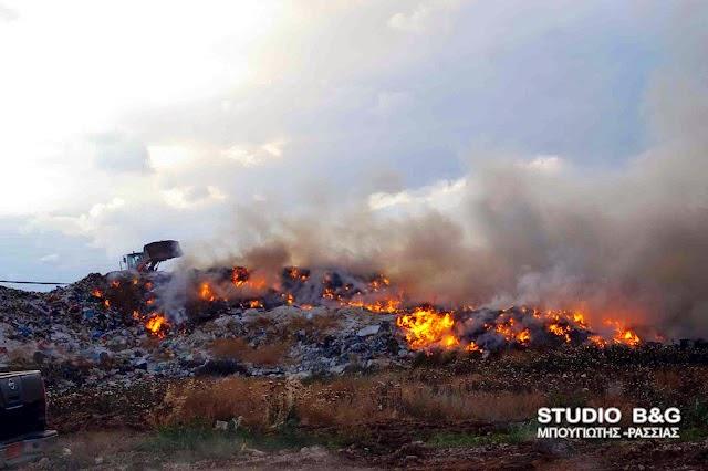 Ο «Άλλος Δρόμος» για την πυρκαγιά στο σκουπιδότοπο του Άργους