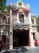 Walt Disney's Apartment Above Disneyland Fire Dept (image dc ec cb )