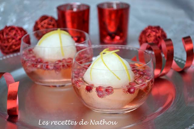 sorbet citron cava ros 233 et grenade blogs de cuisine
