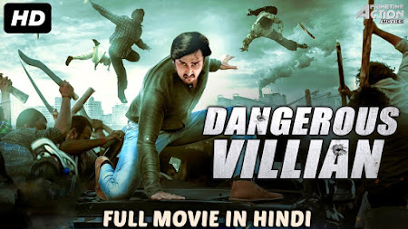 Poster Of Dangerous Villain Full Movie in Hindi HD Free download Watch Online 720P HD