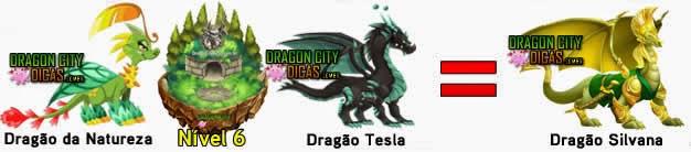 Cruzamentos para fazer o Dragão Silvana