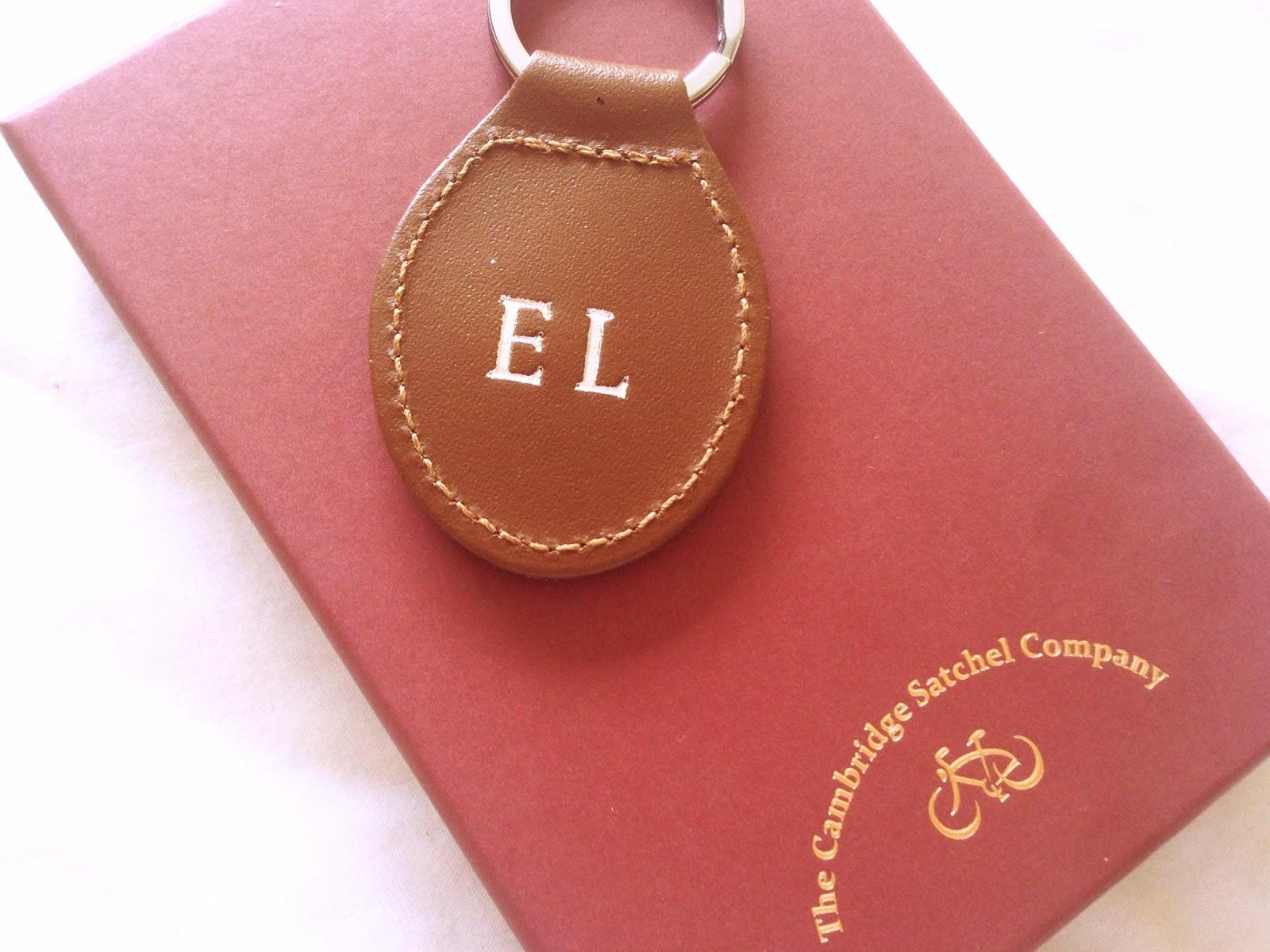 Cambridge Satchel Company Keyring Personalised