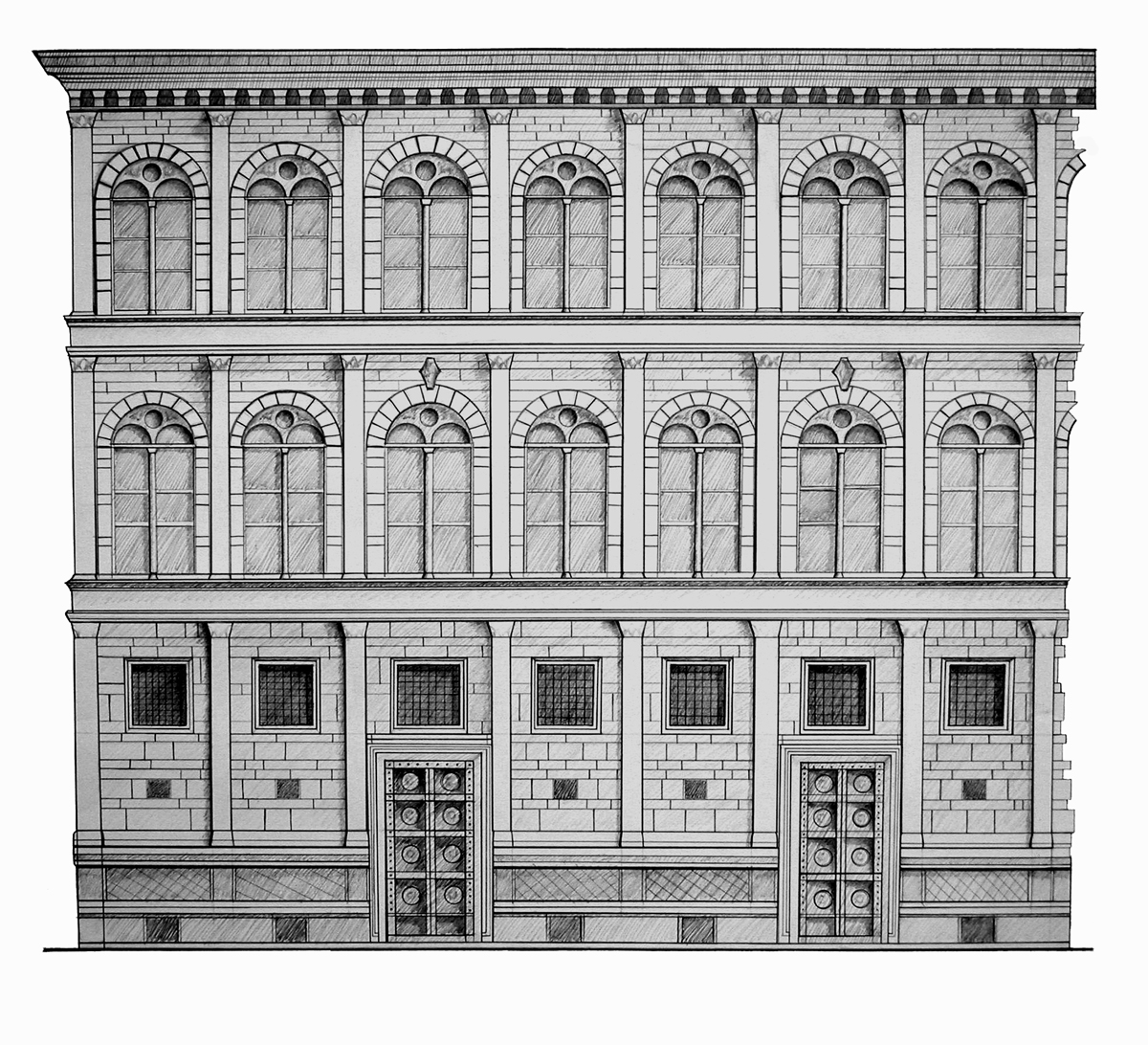 4318776 additionally File Santa Maria Novella  Florence    0851 together with Informations Florence also Wiki 2 19 878 1076 1089 View Renaissance 1 Profile Medici Palace 1444 1449 Florence Italy also Palazzo Rucellai. on alberti facade