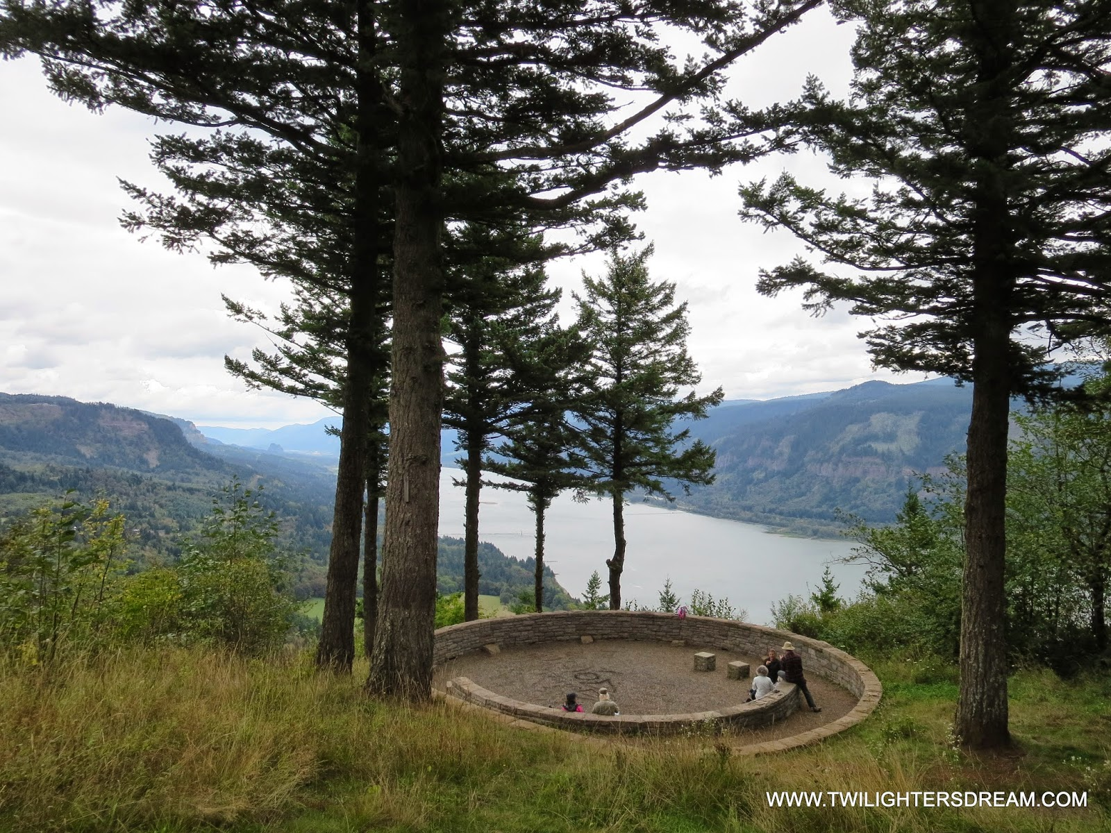 The lookout where filming occurred is located along the Cape Horn Trail. We  used the address listed above in our GPS to get to the closest place