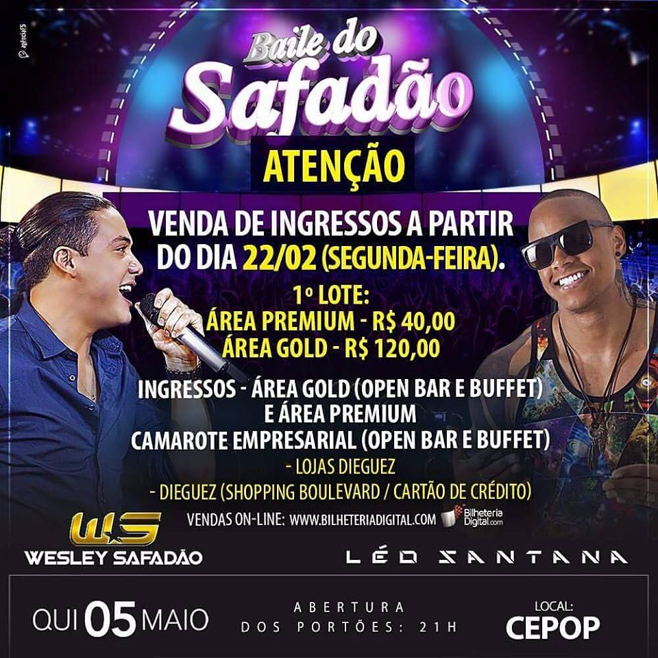 BAILE DO SAFADAO