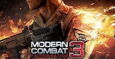 Download Modern Combat 3 Fallen Nation 1.14g  Mod Apk + Data
