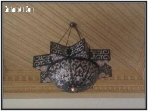Lampu Gantung Klasik - Kerajinan Lampu Gantung Tembaga - Gudang Art