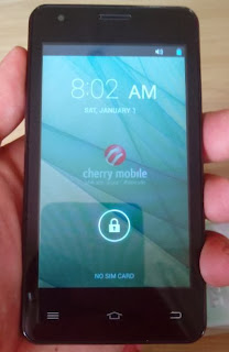 Front of Cherry Mobile Sonic 2.0