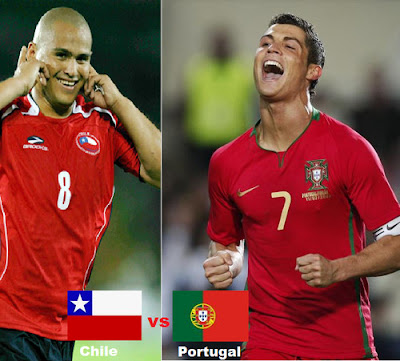 Chile vs Portugal En Vivo Online 26 de Marzo 2011