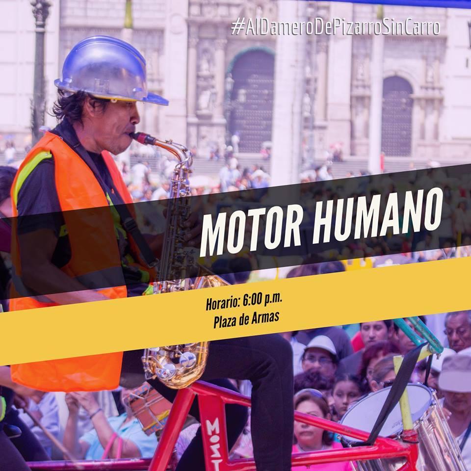 MOTOR HUMANO