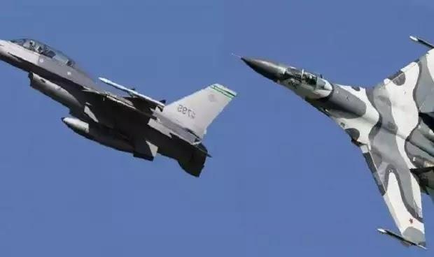 Αερομαχίες μεταξύ Su-27P και F-16D πάνω από την Area 51: Η USAF δοκιμάζει απόρρητα όπλα εναντίον των ρωσικών μαχητικών