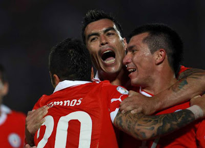 Chile 2 - 0 Paraguay (3)